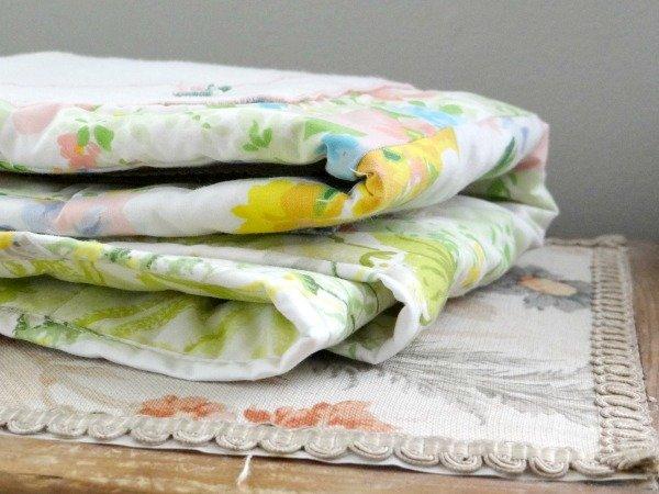 vintage hankie baby quilt pattern