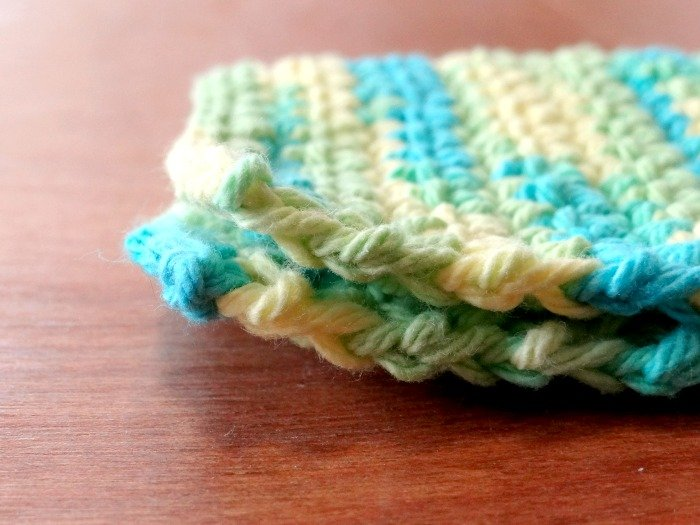 crochet wash cloth how to