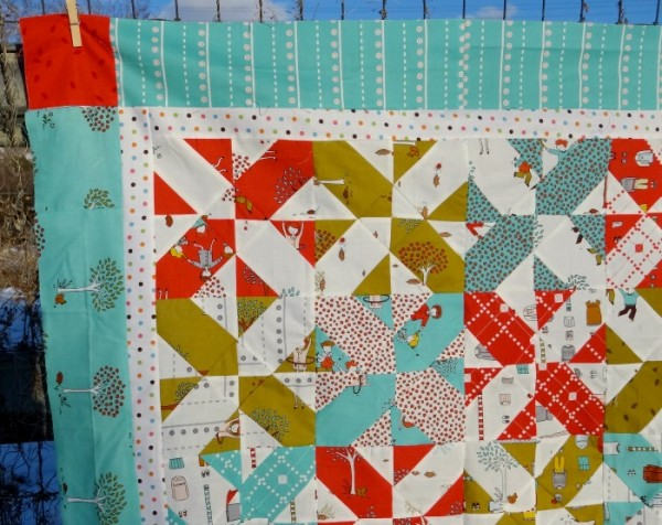 Disappearing Baby Quilt Tutorial