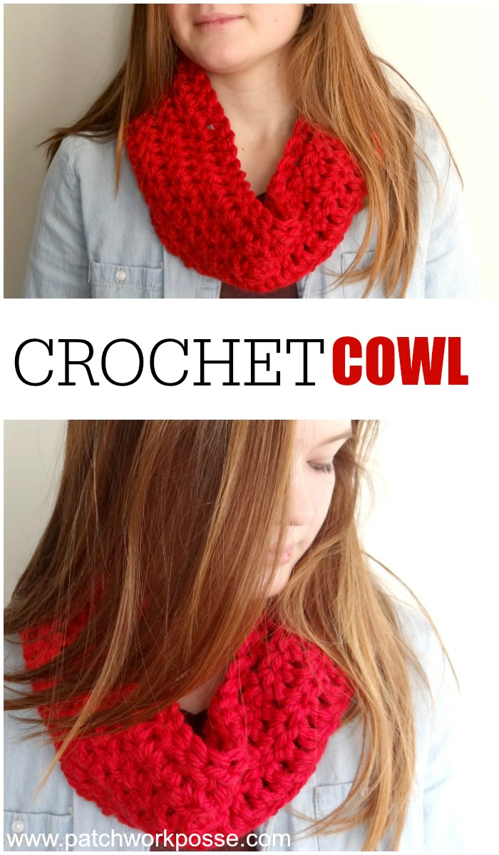 Quick Crochet Cowl Free Pattern : Free Crochet Cowl Pattern Diamonds Cables Winter Scarf ...