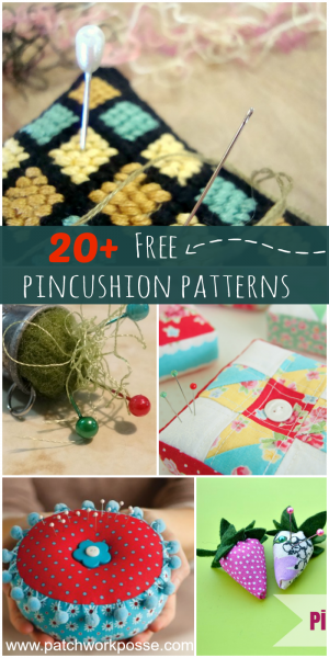 free pincushion patterns. Perfect project to sew anytime and give as gifts.