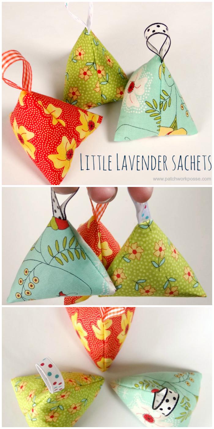 hand made lavender sachet