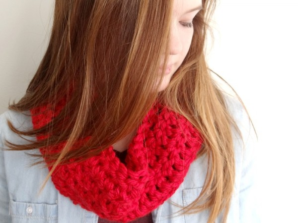 how to crochet a cowl tutorial