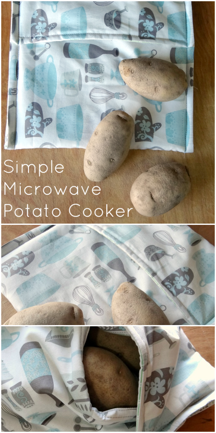 Microwave Potato Bag How To Sew A Potato Microwave Bag