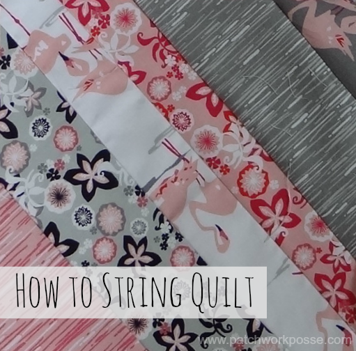 how to string quilt