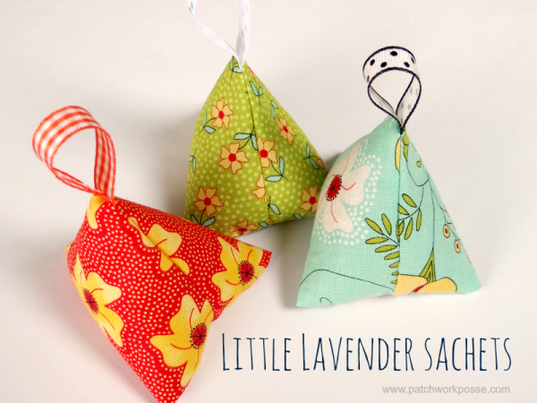 hand made lavender sachet Great for stitching in drawers, cars and wherever you need a yummy smell.