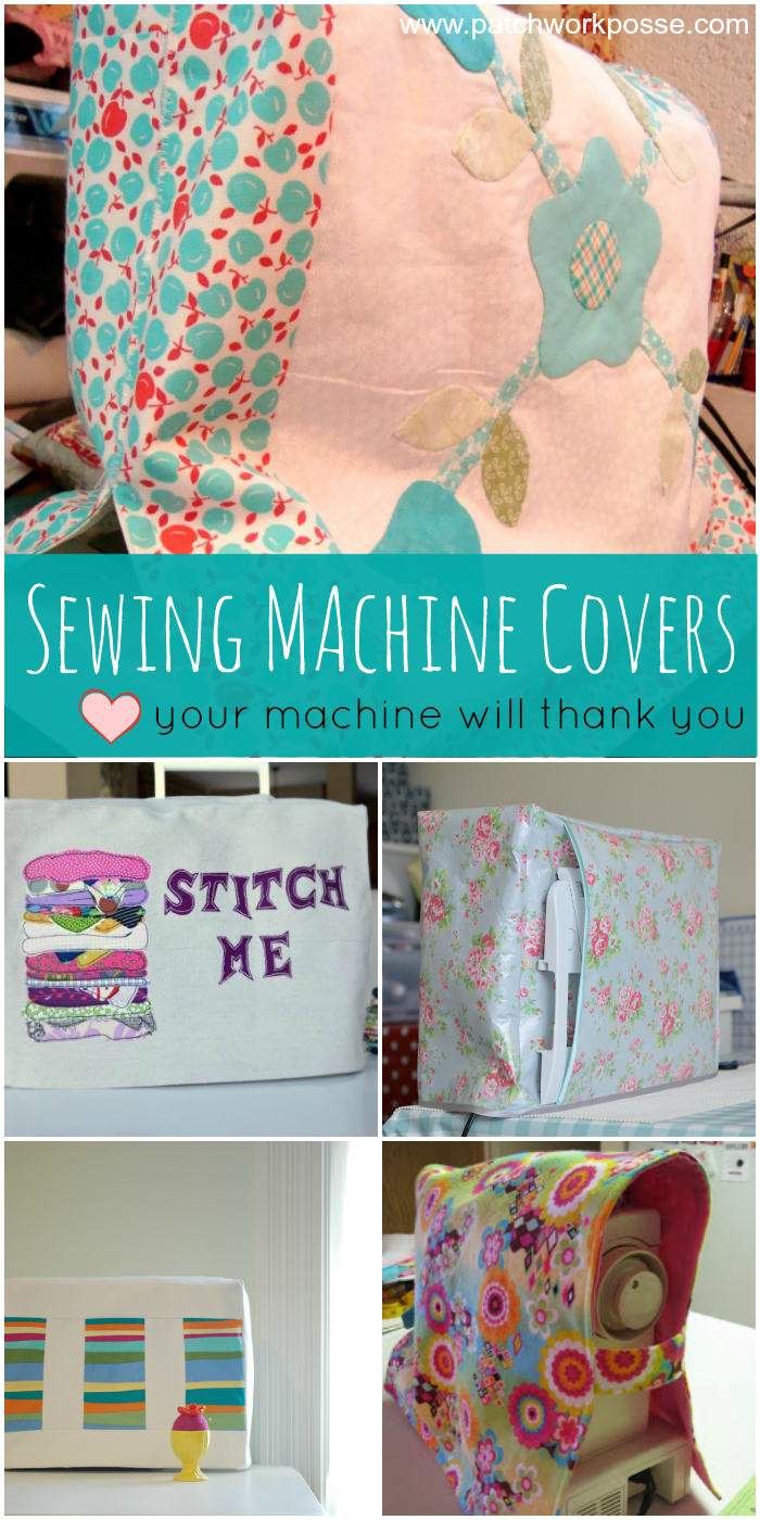 sewing machine cover tutorials