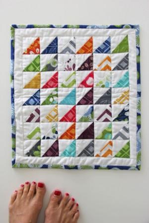 simply color mini quilt1