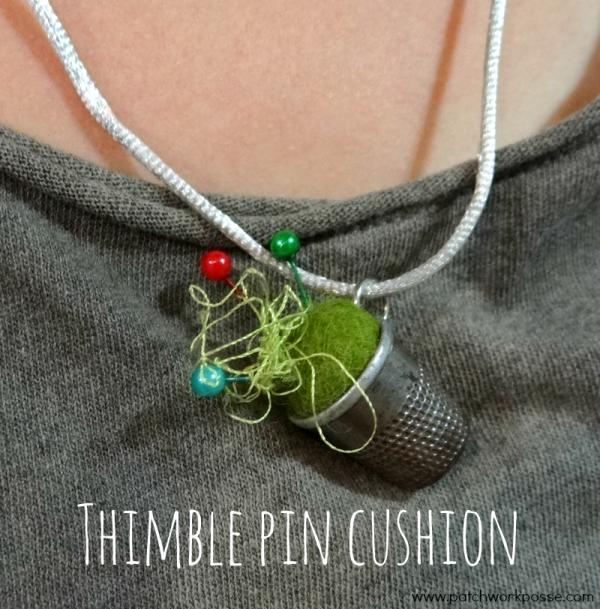 thimble pin cushion tutorial