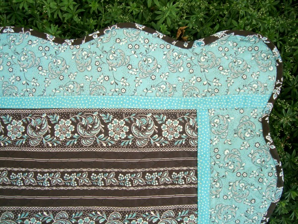 prequilted fabric baby quilt