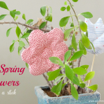 Flowers on a Stick Tutorial