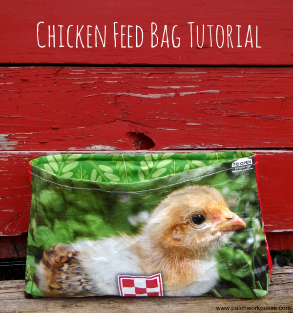chicken feed bag tutorial