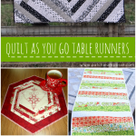 Quilt as You Go Patterns – Table Runners