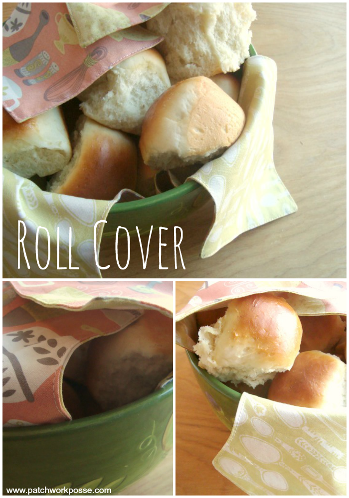 bread basket cover tutorial. Great for eating outdoors too!