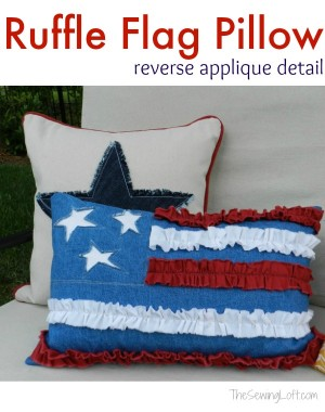 Ruffle-Flag-Pillow
