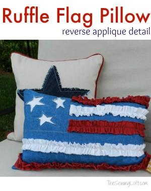 Ruffle-Flag-Pillow
