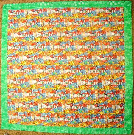 baby blanket tutorial 1-1