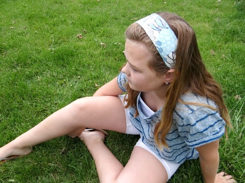 Fabric Headband – Sewing Projects for Kids Series