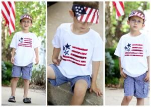 flag bandana shirt make your own
