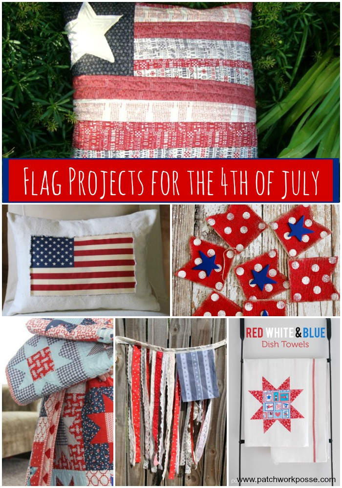 flag project to sew