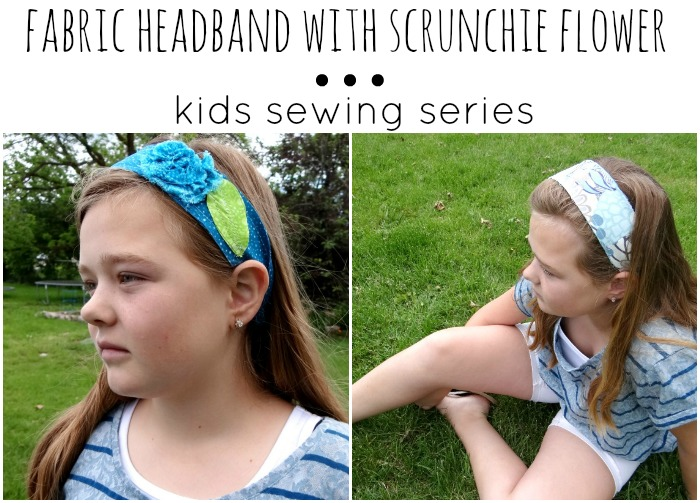 kids sewing series headband