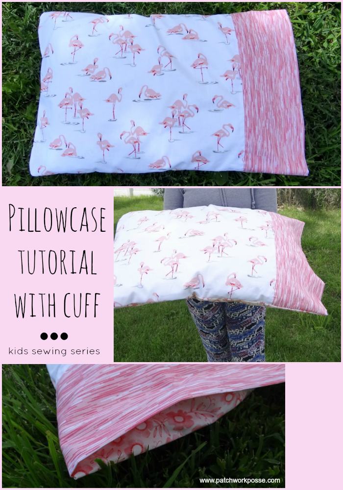 pillowcase tutorial with cuff