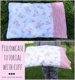 pillowcase with cuff pattern