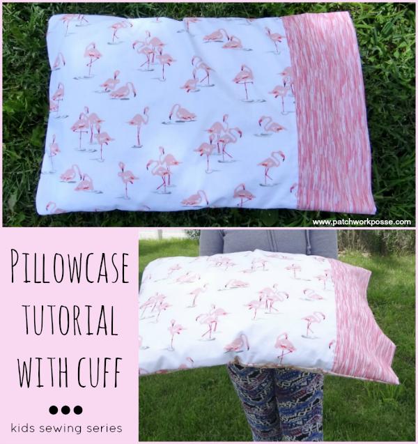 pillowcase with cuff pattern