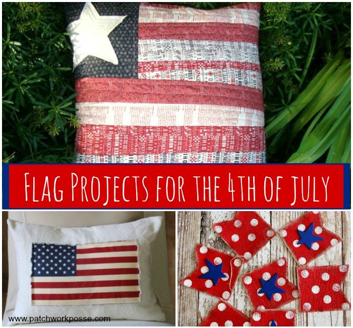 10+ Flag Projects to Sew for the 4th of July