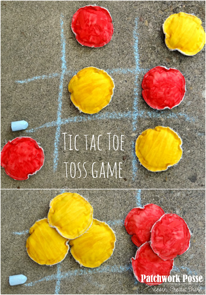 Learn how to sew your own tic tac toe toss game. Easy instructions, toss in the car and play anywhere!