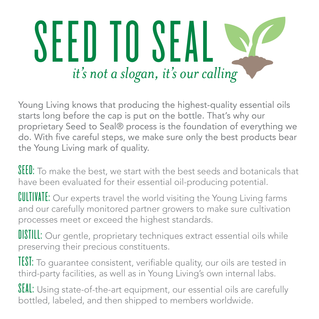 Young Living Essential Oils – Seed to Seal