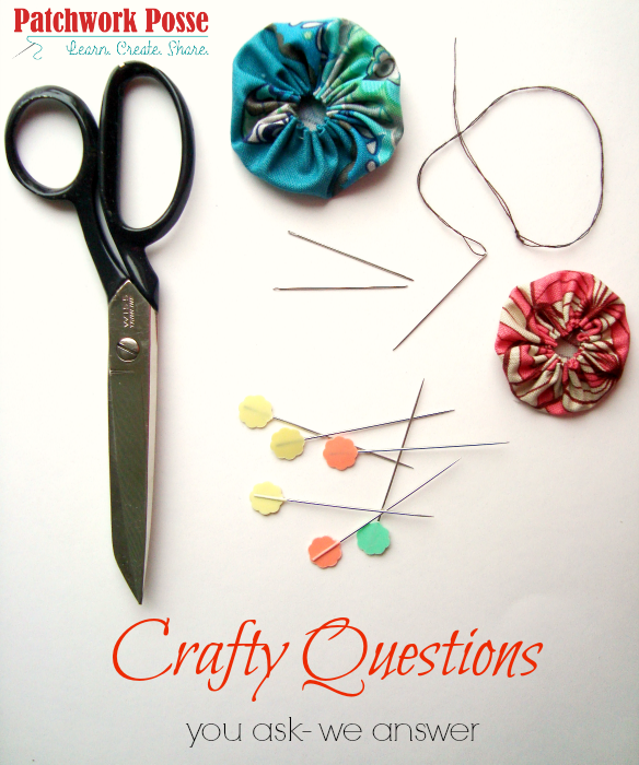 Crafty Questions – What do you want to know?