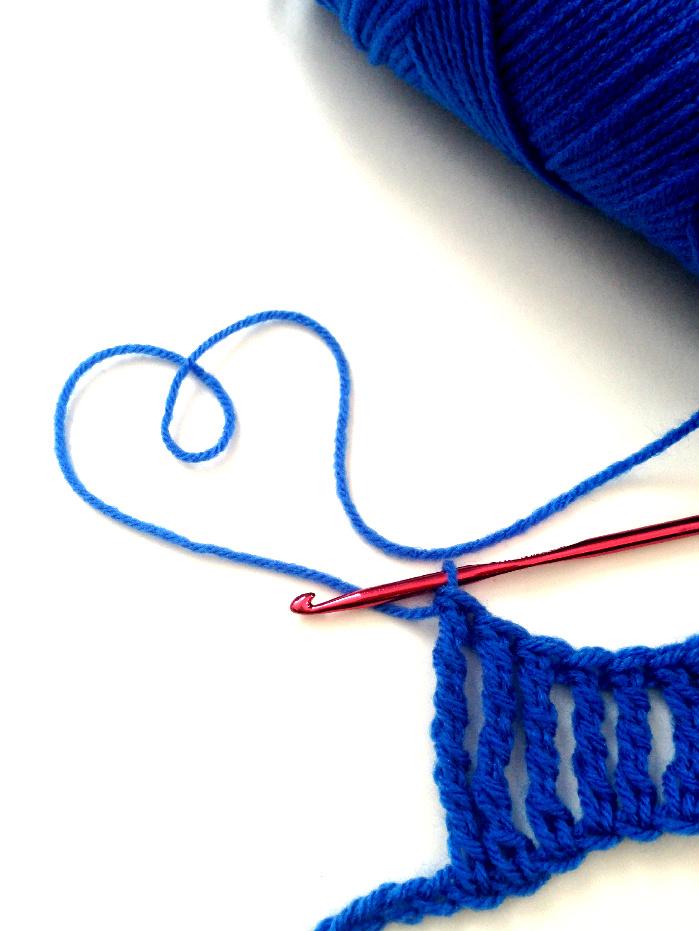 crochet tallest stitches