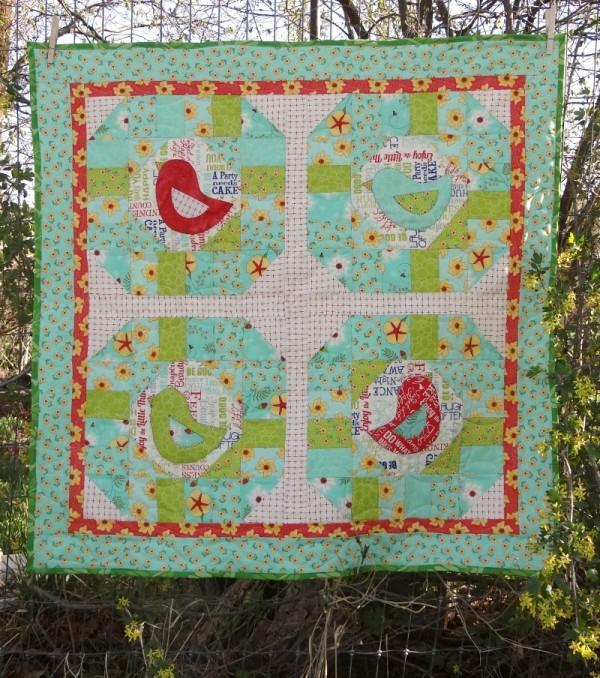 early bird quilt tutorial