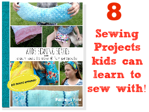 kids sewing series cover ad