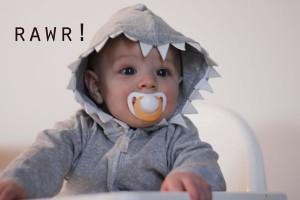 shark hoodie tutorial