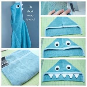 shark towel tutorial