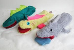 shark wash cloths