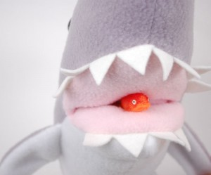 shark week plushie