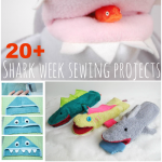 20+ Sewing Projects for Shark Week