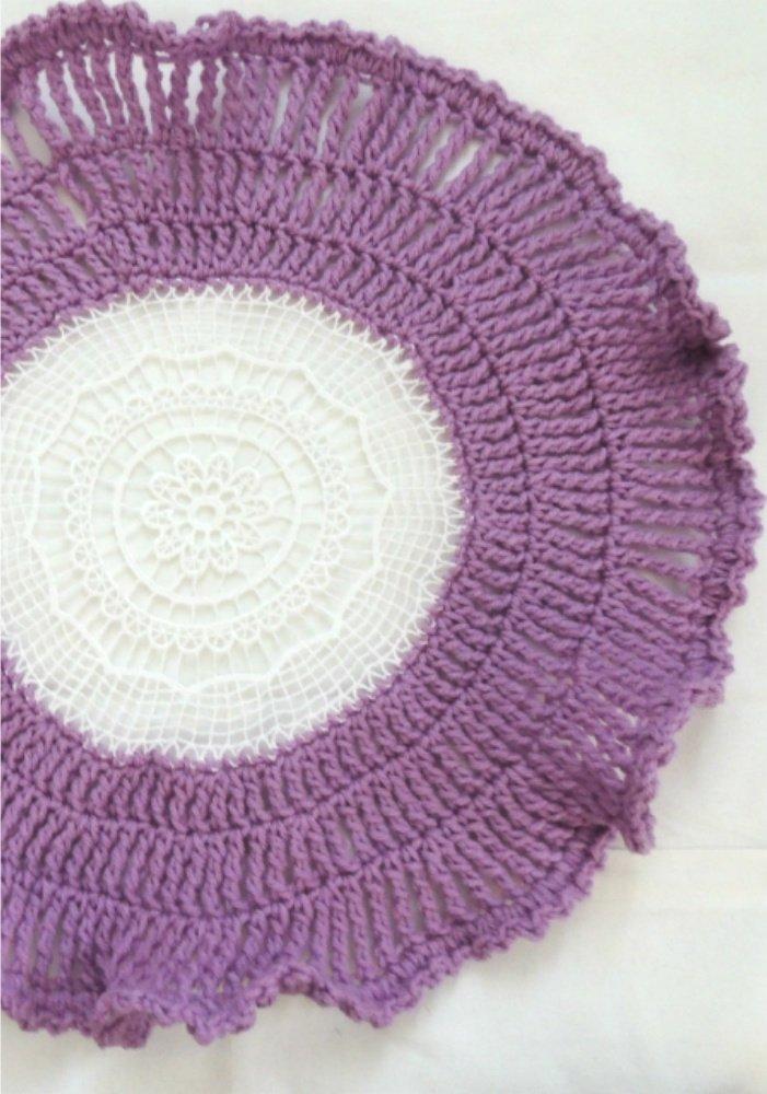 crochet placemat