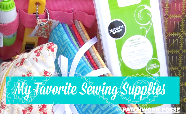 my favorite sewing supplies- there are 10