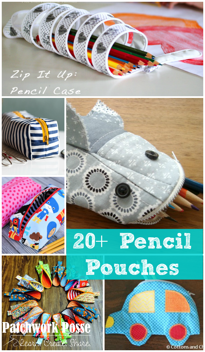 20+ Pencil Pouches for Back to School