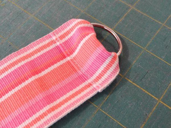 sew in keyring