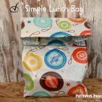 Free Lunch Bag Pattern