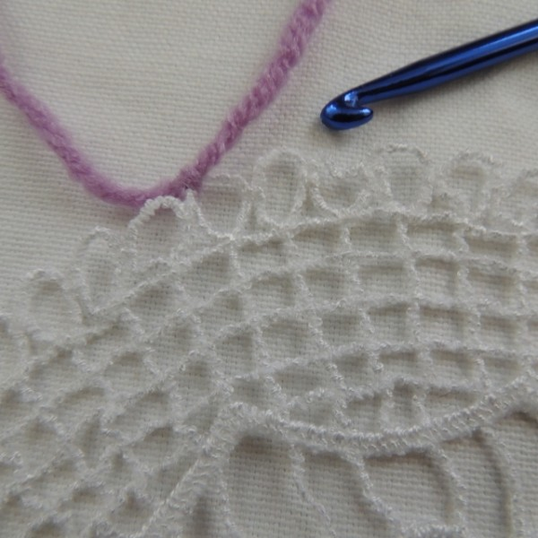 yarn doily