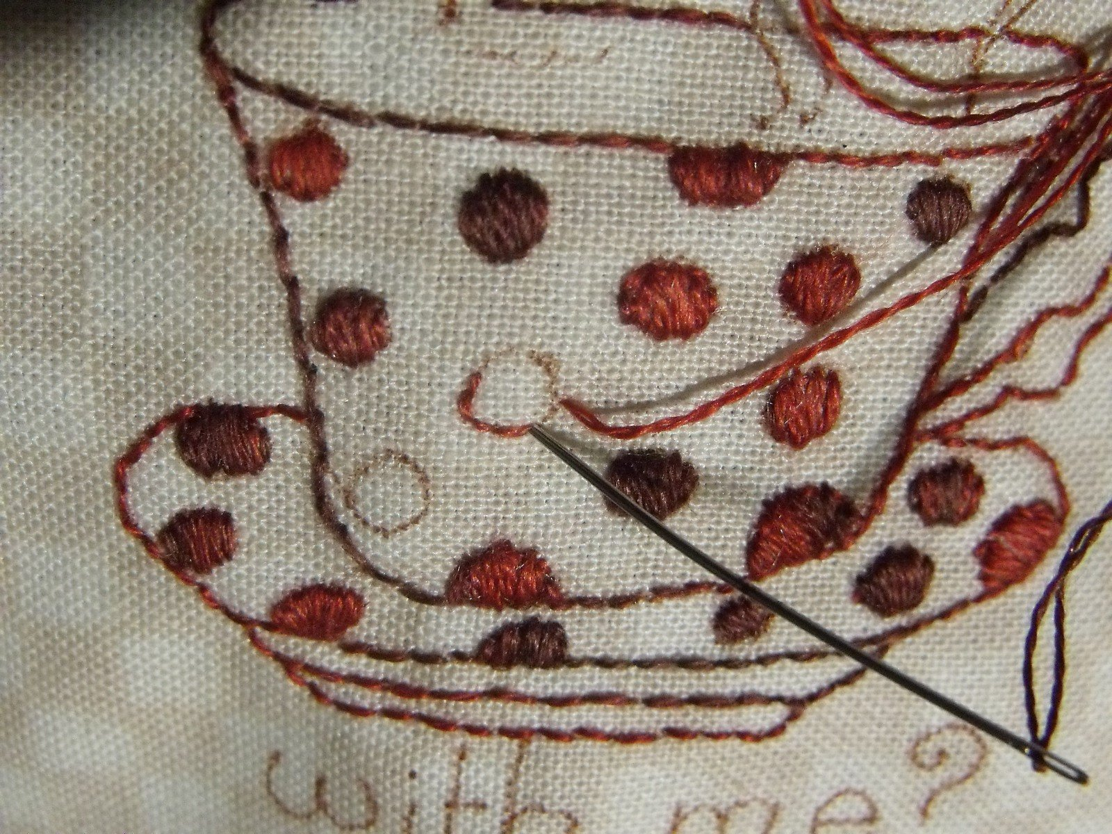 Embroidery How To: Satin Stitch 101