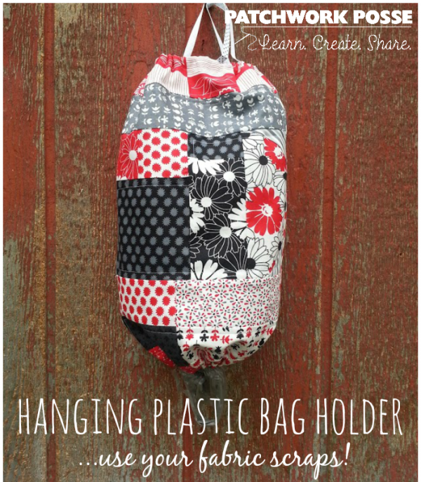 scrap fabric bag holder