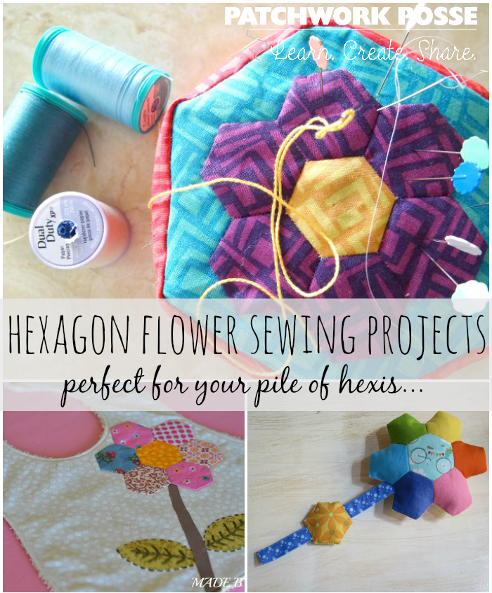 sewing projects for your hexagon flowers