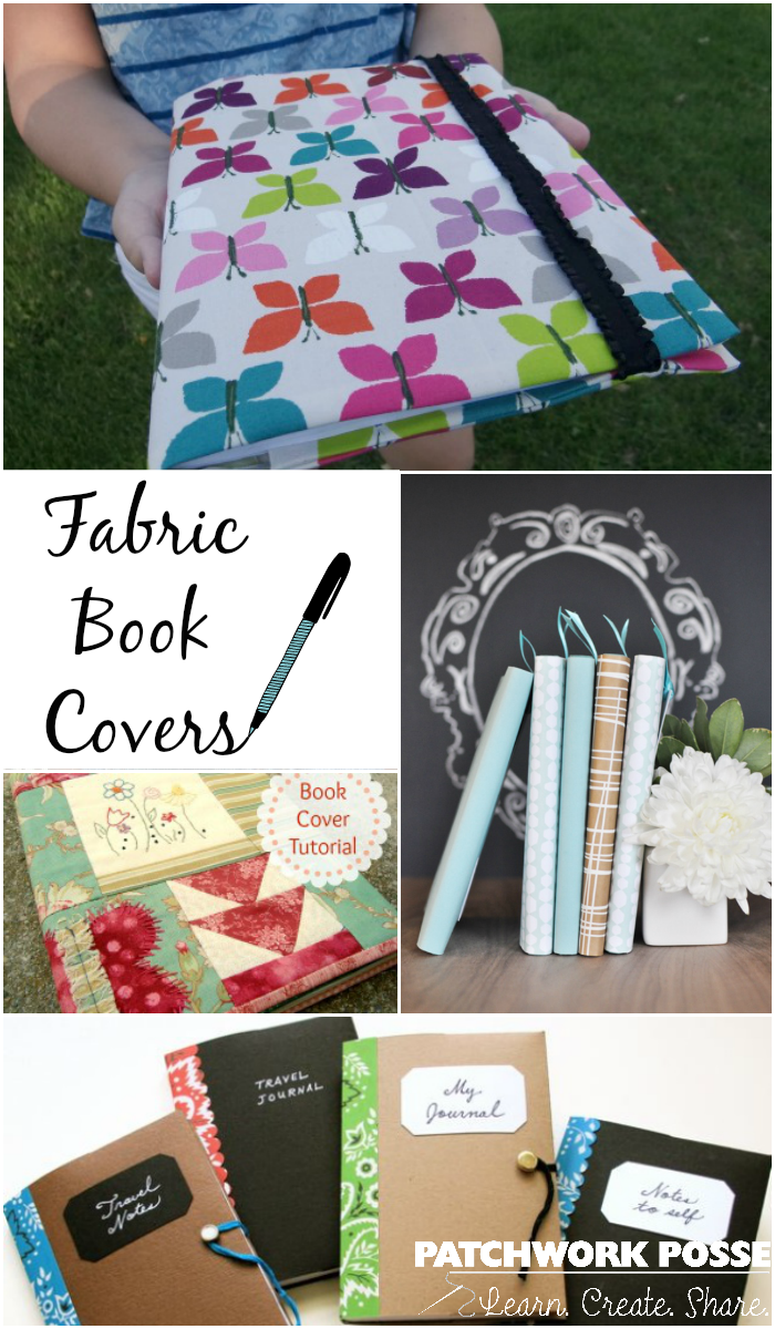 fabric book covers